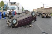 ДТП в Басова с участием четырёх автомобилей. 3 сентября 2013, Фото: 6