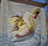 «А белый лебедь на пруду качает павшую звезду...». Тула, ул. Шухова, 2. Автор Юлия Засыпкина (Тула)., Фото: 8