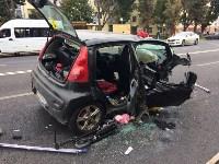 Массовое ДТП в центре Тулы: четверо пострадали, Фото: 6