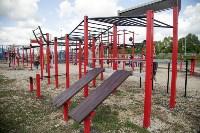 В Туле на набережной Упы открылась уникальная спортплощадка для занятий фитнесом и бодибилдингом, Фото: 5