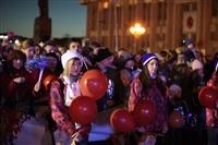 Третий этап эстафеты олимпийского огня: проспект Ленина, Фото: 69