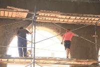 Владимир Груздев проинспектировал ремонт бассейна на улице Гоголевской. 8 июля 2015, Фото: 19