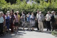 В Туле пенсионеры толпятся в огромной очереди на продление проездных, Фото: 8