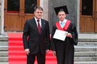 Владимир Груздев поздравил выпускников магистратуры ТулГУ, Фото: 52