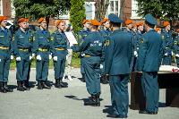 Молодые сотрудники Главного управления МЧС России по Тульской области торжественно приняли присягу, Фото: 64