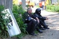 В Плеханово начали сносить дома в цыганском таборе, Фото: 105