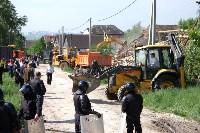 В Плеханово начали сносить дома в цыганском таборе, Фото: 94