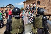 В Плеханово начали сносить дома в цыганском таборе, Фото: 114