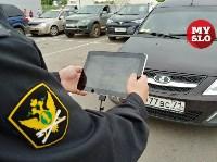 В Туле приставы и налоговики начали искать должников на парковках супермаркетов, Фото: 7