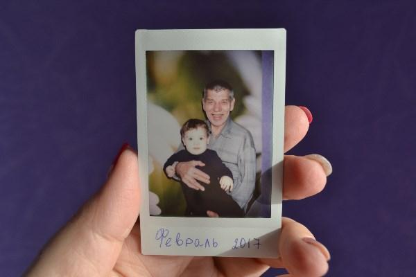 Любимый сыночек с дедушкой Юрой.