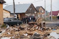 В тульском селе сносят незаконные цыганские постройки, Фото: 39