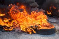 Пожар в гаражном кооперативе №17, Фото: 5