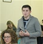 Встреча Дениса Бычкова со студентами иняза ТГПУ, Фото: 3