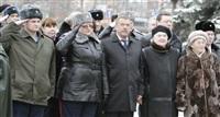 Возложение цветов к памятнику на площади Победы. 21 февраля 2014, Фото: 9