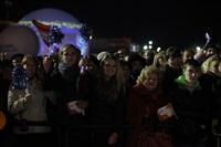Этафета олимпийского огня. Площадь Ленина, Фото: 39