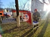 Пожар в пиццерии на Красноармейском, Фото: 10