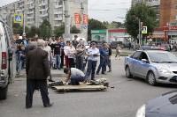 КамАЗ сбил велосипедистку на пересечении Ложевой и Кирова, Фото: 4