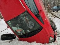 Под Тулой Opel «залез» на дерево, Фото: 6