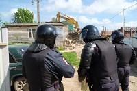 В Плеханово начали сносить дома в цыганском таборе, Фото: 100