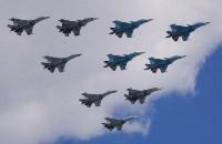 Тульская делегация побывала на генеральной репетиции парада Победы в Москве, Фото: 22