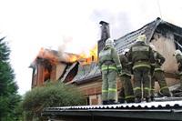 Пожар в доме по ул. Рабочий проезд. 27 сентября, Фото: 6