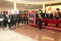 В Туле прошла церемония крепления к древку полотнища знамени регионального УМВД, Фото: 8