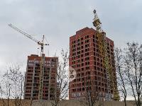 В Туле на улице Маргелова башенный кран «прилег отдохнуть», Фото: 1