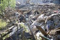 Незаконную свалку на берегу Тулицы спрятали под грудой земли, Фото: 15