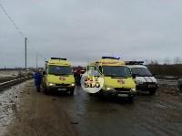 В страшном ДТП под Тулой погибли два человека, Фото: 16