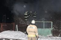 В пос. Менделеевский сгорел частный дом., Фото: 9