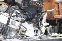Стрела автокрана раздавила водителя, Фото: 17