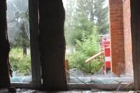 В Скуратово загорелось заброшенное училище, Фото: 2