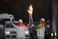 Третий этап эстафеты олимпийского огня: проспект Ленина, Фото: 56