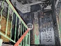 На улице Металлургов в Туле загорелась квартира , Фото: 22