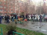 Субботник во дворе дома №19 по ул. Кирова, Фото: 1