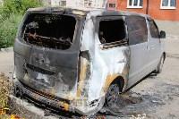 Поджоги минивэнов в Узловой, Фото: 1