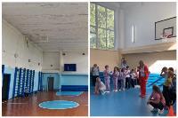 Ремонт спортзала в школе с. Симоново, Фото: 3