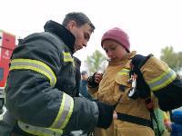 Тульские пожарные провели соревнования по бегу на 22-этаж, Фото: 42