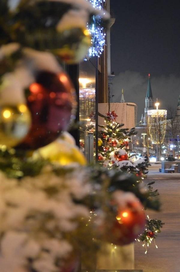 Яркая и праздничная столица - место нашего традиционного новогоднего отдыха