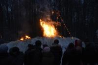 В ЦПКиО сожгли чучело зимы, Фото: 38