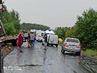 В Тульской области в ДТП с двумя грузовиками погиб водитель, Фото: 2