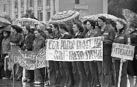 Отъезд стройотряда ТПИ на ударные комм. стройки Нечерноземья. 07.1980., Фото: 2