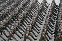 Репетиция Парада Победы в подмосковном Алабино, Фото: 123