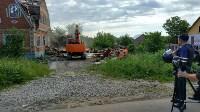 Демонтаж незаконных цыганских домов в Плеханово и Хрущево, Фото: 2