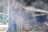 Пожар на складе ОАО «Тулабумпром». 30 января 2014, Фото: 4