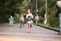 Туляки «погоняли» на самокатах в Центральном парке, Фото: 18