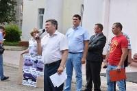 Митинг в Новомосковске, Фото: 2