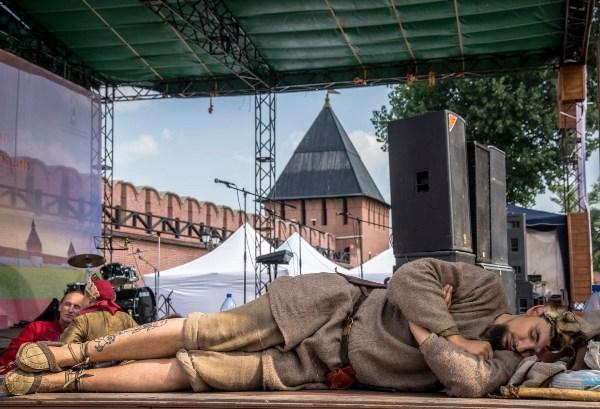 В рамках празднования 500-летия Тульского кремля , тематический фестиваль исторической реконструкции «Кремли России».