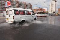 Возле роддома в центре Тулы забил фонтан, Фото: 2