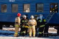 Учения МЧС на железной дороге. 18.02.2015, Фото: 21